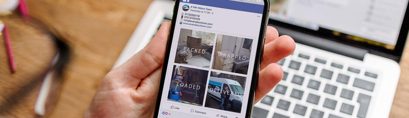 A Van About Town Social Media
